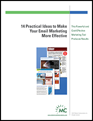 14 Practical ideas for email marketing