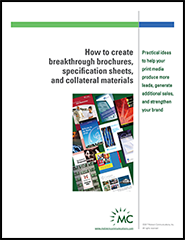 Create breakthrough brochures